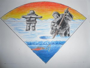 Cal Smith entry 2 - Inukshuk fishing (2)